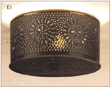 Tin Ceiling Lights Pierced tin ceiling light period lighting historic housefitters pierced tin ceiling light we ve carried the pierced tin theme into the design of this distinctive ceiling lamp the snowflake pattern casts a fanciful audiocablefo
